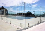 Pasamano de cristal de Frameless con el vidrio Tempered