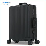2017熱い販売20/24インチすべてのアルミニウムスーツケースの荷物