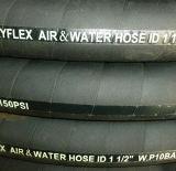 Tuyaux d'air en caoutchouc extérieurs enveloppés par tissu industriel