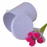 Rectángulo de regalo de empaquetado vendedor caliente de la flor rígida de la cartulina