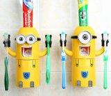 Держатель зубной щетки милого мытья конструкции миньонов установленный