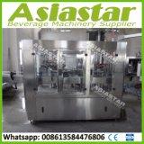 Sistema de empaquetado en botella vidrio del relleno en caliente de la máquina del llenador del jugo de la pulpa