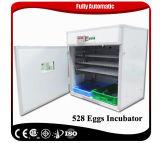 Nueva llegada de aves de corral de la energía solar Incubadora del huevo Máquina 528 huevos de pollo Incubadora para la venta