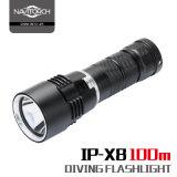 Tauchens-Taschenlampe IP-X8 100meters mit CREE Xm-L2 LED
