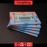 40g는 세라믹 부지깽이 칩 카지노 질 세라믹 카지노 칩 Ym-Cp008를 주문 설계한다