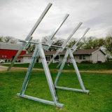 a liga 6063t5 de alumínio expulsou perfil para o frame de painel solar