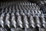 Engranzamento revestido da cerca do engranzamento de fio da ligação Chain do PVC/fio do diamante