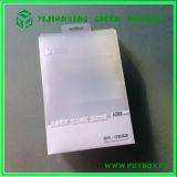 Пластичная прямоугольная ясная складная коробка с печатание экрана с вешалкой