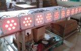 Luz decorativa do banquete de casamento sem fio barato de 15W Rgbaw DMX