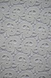 衣服およびホーム織物のための優雅な刺繍パターンが付いている新しいデザインポリエステルレースファブリック