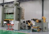 Alimentador de la enderezadora y uso de Uncoiler en máquina de la prensa y herramienta de máquina