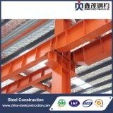 Almacén fabricado metal de la estructura de acero