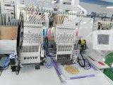 二重ヘッドマルチカラーは管状の刺繍機械良質マルチ機能刺繍機械Wy1202cをコンピュータ化した