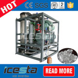 Máquinas de hielo industriales del tubo de Icesta 10t/24hrs para la venta