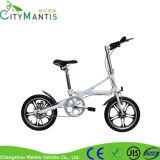 Peso leve bicicleta de dobramento da liga de alumínio de 16 polegadas