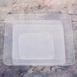 La protección del medio ambiente inofensiva del abrigo plástico del grado del silicón 100%Food del nuevo producto/se aferra película/abrigo plástico