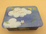 Олов печенья жестяных коробок шоколада коробки олова конфеты шаржа малые