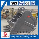 Cubeta da rocha da máquina escavadora (Komats/Hitachi/Volvo/Sumitomo/Mitsubishi)