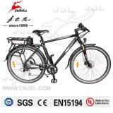 vélo électrique d'aluminium de 700c blanc/de noir alliage du bâti 36V (JSL033A-4)