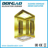 رفاهيّة مسافر مصعد مع ذهبيّة مرآة ختم