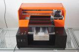 Impresora UV multifuncional para la caja del teléfono celular Tarjeta de visita de tarjetas de plástico transparente