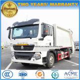 Sinotruk HOWO 6は15トンを動かすコンパクターのガーベージがトラックを集め、運ぶ