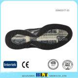 熱い販売の革上部の通気性の織物のライニングの靴