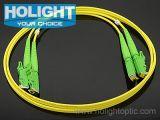 E2000 APC aan APC E2000 de DuplexKabel van het Flard van de Vezel Optische