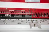 Máquina de corte da placa do balanço de Jsd QC12y para o aço da estaca 6mm