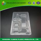 Rectángulo de almacenaje transparente plástico de la colección