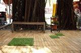 RemoveableのPEベースが付いている屋外の木製の床タイル