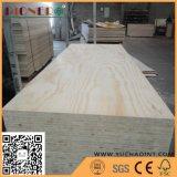 Base Blockboard del pino de la parte posterior del pino de la cara del pino para la decoración