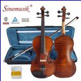 Handmade скрипка с смычком скрипки канифоли скрипки