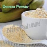 Alimento natural/verde puro/buen polvo del zumo de fruta del plátano del gusto