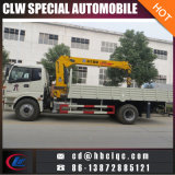 Caminhão novo do guindaste de China Auman 4X2 8ton