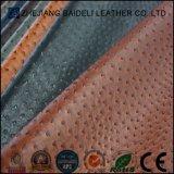 Leder des Strauß-Entwurfs-PVC/PU für Möbel und Beutel mit Feuerfestigkeit