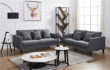 最新のデザインホーム部門別の家具のための耐久ファブリックソファー