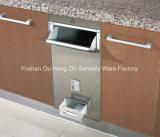 Contenitore d'acciaio del contenitore di riso di vendita di memoria del contenitore del metallo caldo dell'erogatore per la cucina