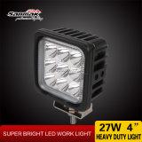 """4 """" 27Wクリー族高出力IP68正方形LED作業ライト"""
