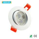 새로운 세륨 RoHS 고품질 3W LED Downlight Epistar 반점 빛 Dimmable