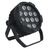 Neutrik Powercon True1のコネクターとの段階の照明のためのRGBWA+UVの専門家IP44 LEDの同価ライト