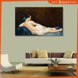 Нагое UV девушки напечатанное на панели стены для домашнего No модели украшения: Hq-023