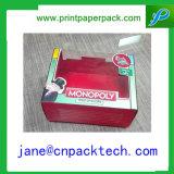 Boîte-cadeau de empaquetage de papier de guichet de cadre de Carboard de boîte faite sur commande à sucrerie