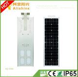 80W 3 da garantia anos de luz ao ar livre solar do diodo emissor de luz com o controlador Integrated e ajustável do tempo
