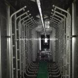Puder-Farbanstrich-System für Aluminiumkapitel beenden