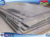 Inoxidable/aluminium/plaque Checkered en acier avec la configuration de boussole (CP-004)