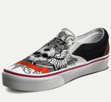 Espadrille faite sur commande occasionnelle de chaussures de toile d'hommes