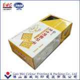 Напечатанная коробка подарка бумаги еды упаковывая