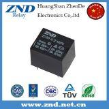 крышки черноты релеего силы 3FF (T73) 10A 12V релеий миниатюрной электромагнитное