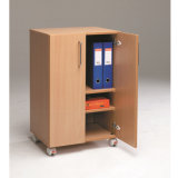 6751 Office Furniture MDF Wooden Document Cabinet 3 - Step